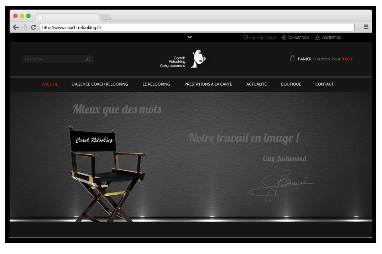 Création site internet Coach relooking