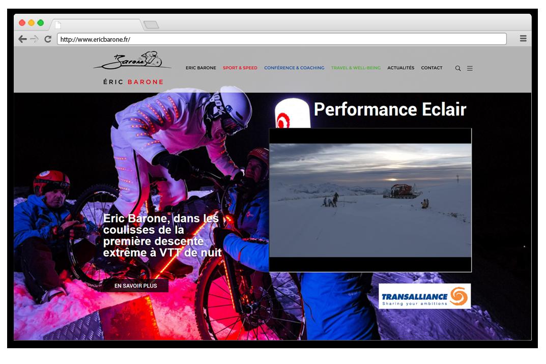 Création site internet Eric Barone