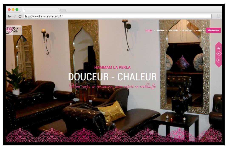 Création site internet Hammam Bourg en Bresse - Péronnas