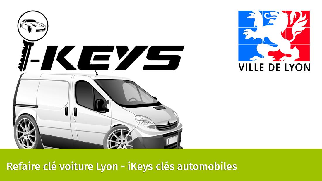 Clé de voiture Lyon