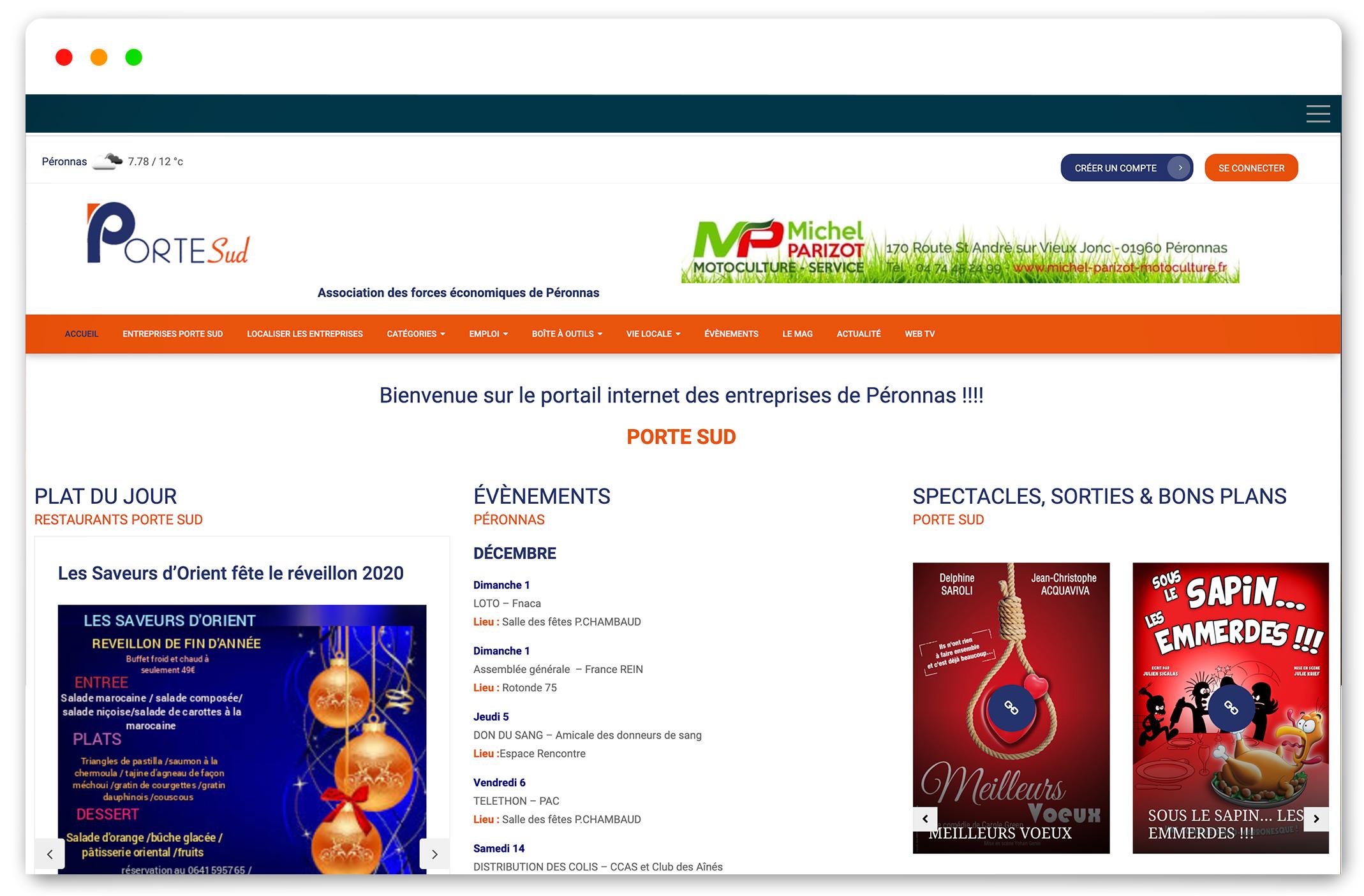 Création site internet APRZ expert comptable bourg en bresse